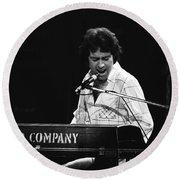 Bad Company Live In Spokane 1977 Round Beach Towel