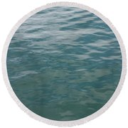 Peaceful Water Round Beach Towel