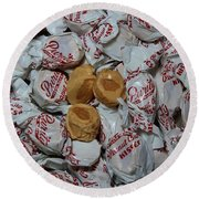 Peanut Butter Kisses - Candy - Sweets - Treats Round Beach Towel