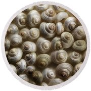 Pearly Round Beach Towel