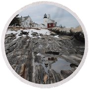 Pemaquid 8263 Round Beach Towel