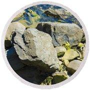 Pembroke Rock Round Beach Towel