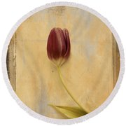Penchant Naturel 03bt03c Round Beach Towel by Variance Collections