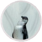 Penguin Round Beach Towel