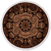 Pennies From Heaven Round Beach Towel