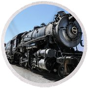 Pennsylvania Railroad H8 Round Beach Towel