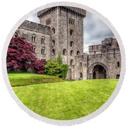 Castle Grounds Round Beach Towel