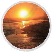 Perdido Key Sunburst Round Beach Towel
