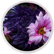 Perfect Imperfections Round Beach Towel