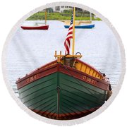 Perfect Launch Round Beach Towel