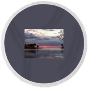 Perfect Touch Round Beach Towel