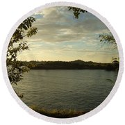 Perfect View Round Beach Towel