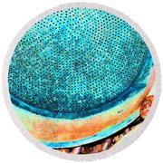 Perforated II Round Beach Towel