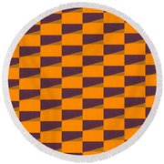Perspective Compilation 11 Round Beach Towel