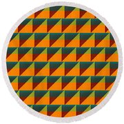 Perspective Compilation 9 Round Beach Towel by Michelle Calkins