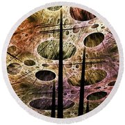 Perspective Lost Round Beach Towel