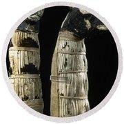 Pet Mummies, 1st Century Round Beach Towel