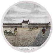 Philadelphia: Barracks Round Beach Towel