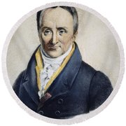Philippe Pinel (1745-1826) Round Beach Towel