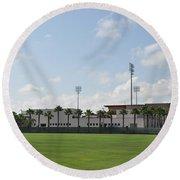 Phillies Brighthouse Stadium Clearwater Florida Round Beach Towel
