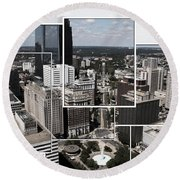 Philly Squared Round Beach Towel