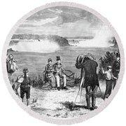 Photographer, 1877 Round Beach Towel