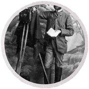 Photographer, 1900 Round Beach Towel