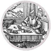 Physician, 1576 Round Beach Towel
