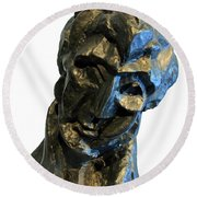 Picasso's Head Of A Woman -- Fernande Round Beach Towel