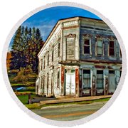 Pickens Wv Painted Round Beach Towel