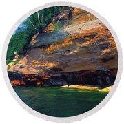Pictured Rocks National Lakeshore, Lake Round Beach Towel