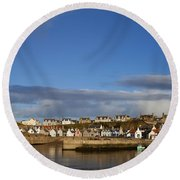 Picturesque Findochty Round Beach Towel