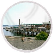 Pier One Round Beach Towel