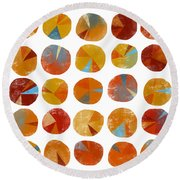 Pies Are Squared Round Beach Towel