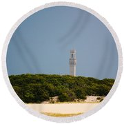 Pilgrim Monument Provincetown Round Beach Towel