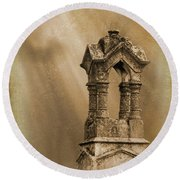 Pillars The Forgotten Series 07 Round Beach Towel