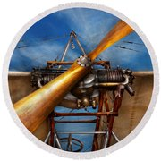 Pilot - Prop - They Don't Build Them Like This Anymore Round Beach Towel