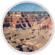 Pima Point Grand Canyon National Park Round Beach Towel