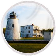 Piney Point Maryland Round Beach Towel