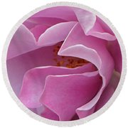 Pink Delight Round Beach Towel
