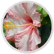 Pink Lady 2013 Round Beach Towel