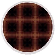 Pipe Works Round Beach Towel