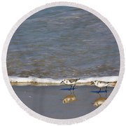 Pipers Round Beach Towel