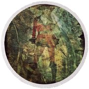Pirate Chelsea Round Beach Towel