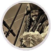 Pirate Round Beach Towel