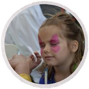 Pirate Princess In The Making Round Beach Towel