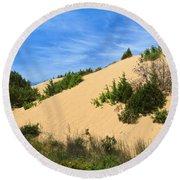 Piscinas Dunes - Sardinia. Italy Round Beach Towel