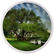 Pithers Willow Round Beach Towel