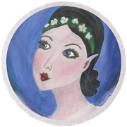 Pixie Two Round Beach Towel