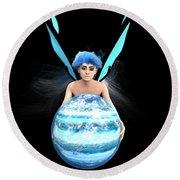 Planet Gift Round Beach Towel